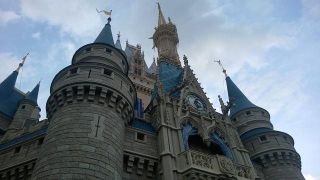 Castle closeup