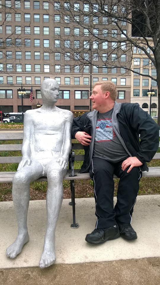 Chicago statue