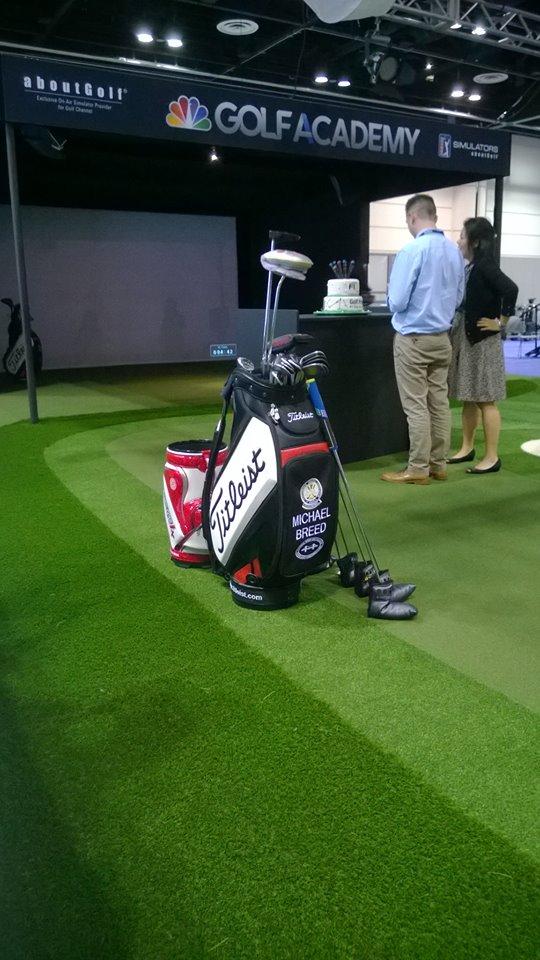 Breed's Golf Bag